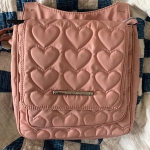Betsey Johnson Shoulder crossbody Hearts Bag